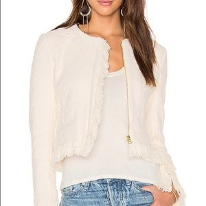 10 Crosby Derek Lam Cropped Fringe Jacket